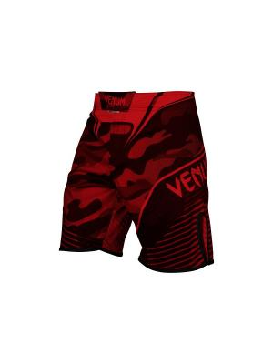 Шорты ММА Venum Camo Hero Black/Red. Цвет: темно-красный