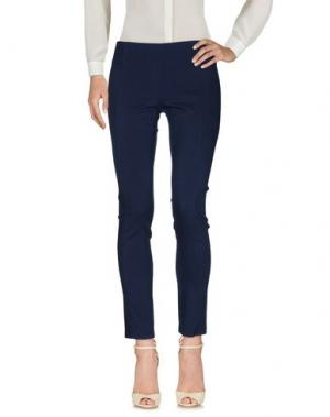 Повседневные брюки RISSKIO. Цвет: темно-синий