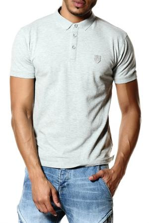 Рубашка-поло 883 Police. Цвет: серый