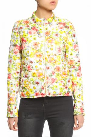 Куртка SEVENTY. Цвет: желто-розовый