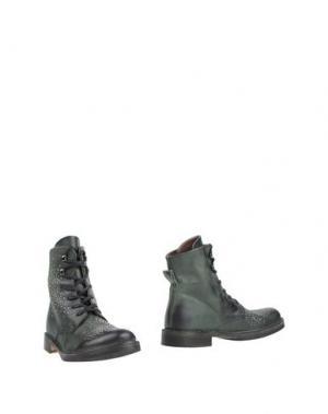Полусапоги и высокие ботинки MANILA GRACE DENIM. Цвет: темно-зеленый