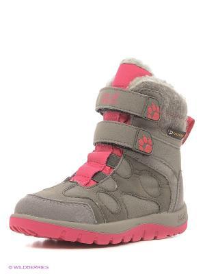 Ботинки PROVIDENCE TEXAPORE HIGH VC G Jack Wolfskin. Цвет: бежевый, розовый