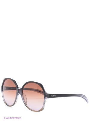 Солнцезащитные очки RY 528S 03 Replay. Цвет: оранжевый