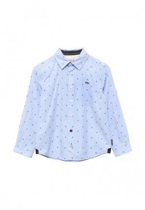 Рубашка Boboli. Цвет: голубой