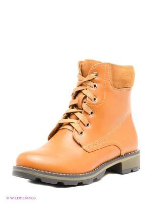 Ботинки INARIO. Цвет: бежевый, светло-коричневый