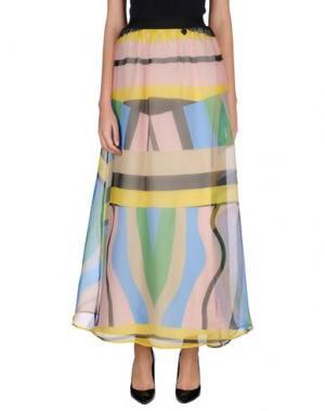 Длинная юбка NAUGHTY DOG. Цвет: светло-розовый