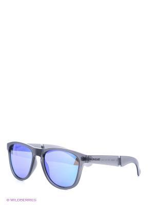 Солнцезащитные очки Polaroid. Цвет: серый, голубой