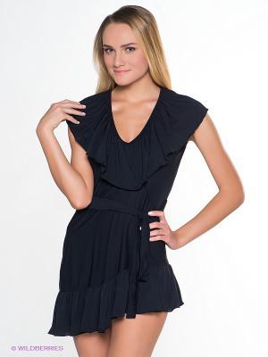 Платье Luli Fama. Цвет: черный