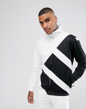 Adidas Originals Белая спортивная куртка EQT BR3827. Цвет: белый