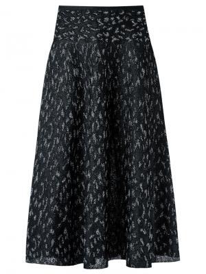 Knit midi skirt Gig. Цвет: чёрный