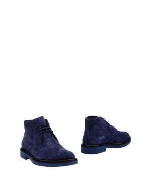 Полусапоги и высокие ботинки GOLD BROTHERS. Цвет: темно-синий