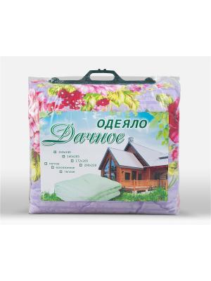 Одеяло Дачное Фаворит текстиль. Цвет: бежевый, молочный, розовый, желтый, зеленый, фиолетовый