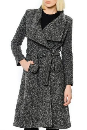 Пальто Dewberry. Цвет: серый