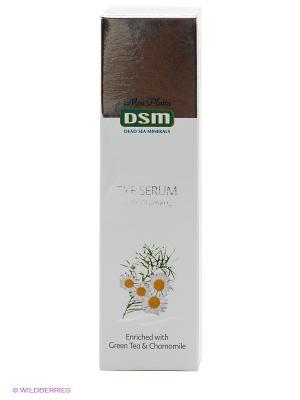 Косметическая сыворотка (серум) для ухода за кожей вокруг глаз, содерж.витамин С Mon Platin DSM. Цвет: белый, серебристый