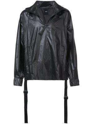 Куртка с капюшоном D.Gnak. Цвет: чёрный