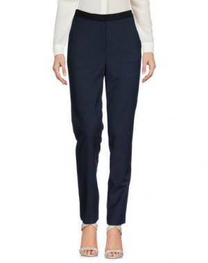 Повседневные брюки TY-LR. Цвет: темно-синий