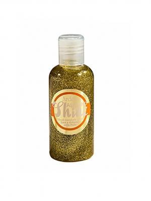 Ardes Масло миндаля c блестками (холодного отжима). Almond shine  100 мл.. Цвет: золотистый