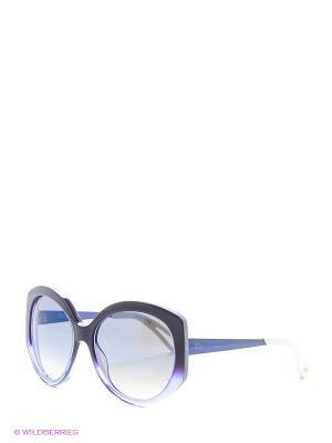 Солнцезащитные очки CHRISTIAN DIOR. Цвет: черный, фиолетовый