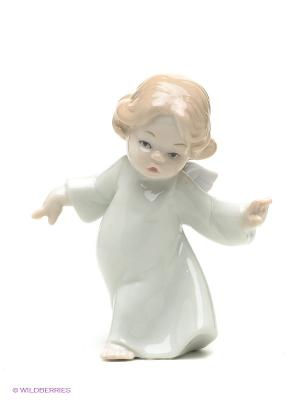 Фигурка Ангелочек Pavone. Цвет: кремовый