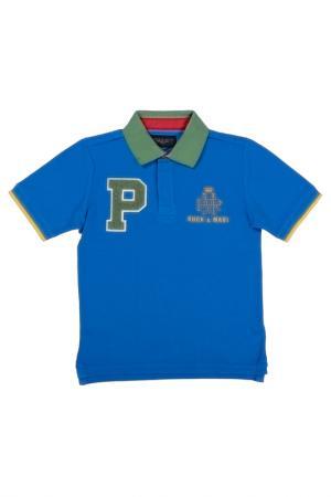 Polo t-shirt Ruck&Maul. Цвет: blue