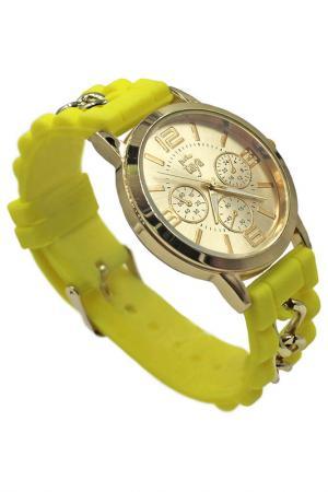 Часы Taya. Цвет: золотистый, желтый