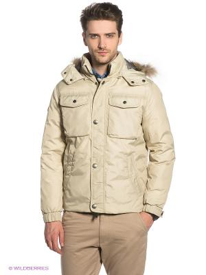 Куртка Marville. Цвет: светло-бежевый