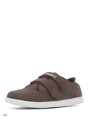 Туфли TIMBERLAND. Цвет: зеленый, коричневый