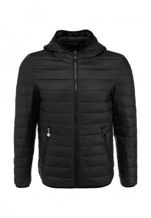 Куртка утепленная New Brams. Цвет: черный