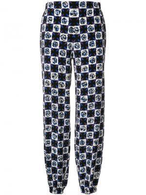 Широкие брюки с принтом Emilio Pucci. Цвет: чёрный