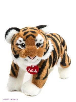 Мягкая игрушка Тигр Саша TRUDI. Цвет: белый, черный, коричневый