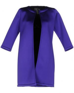 Легкое пальто ES'GIVIEN. Цвет: фиолетовый