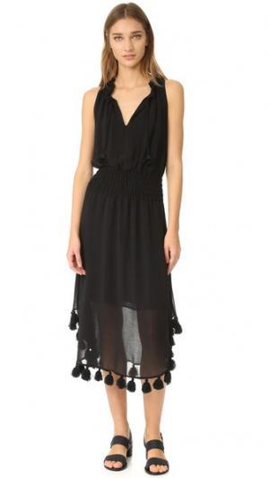Платье Athena MISA. Цвет: оникс