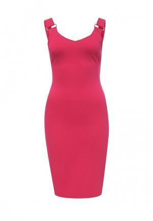 Платье adL. Цвет: фуксия