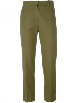 Классические брюки Christian Wijnants. Цвет: зелёный