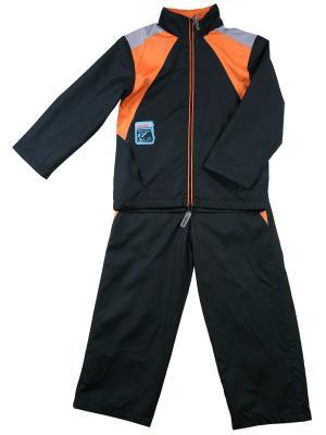 Комплект (куртка, брюки) ВЕНЕЙЯ. Цвет: темно-синий