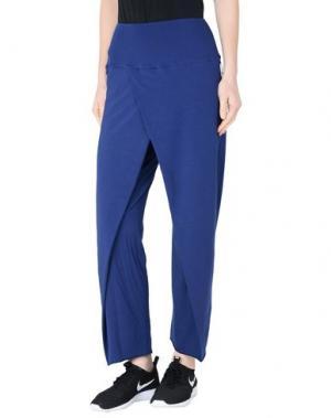 Повседневные брюки WEARGRACE. Цвет: темно-синий