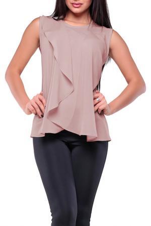 Блуза REBECCA TATTI. Цвет: мокко