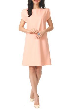 Платье Argent. Цвет: персиковый