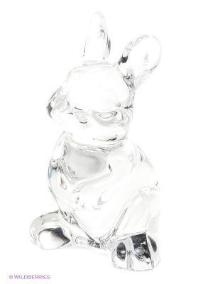 Фигурка Заяц Crystal Bohemia. Цвет: прозрачный