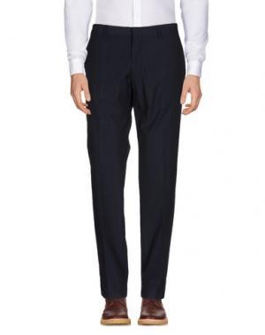 Повседневные брюки J.W. TABACCHI. Цвет: темно-синий