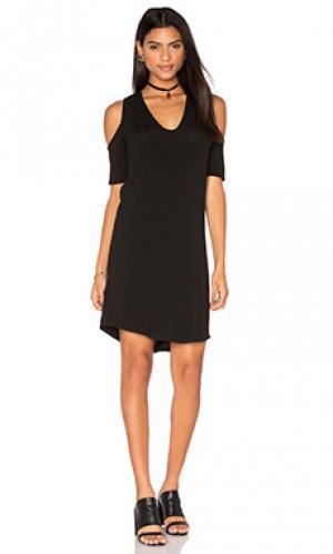 Мини платье cory Riller & Fount. Цвет: черный