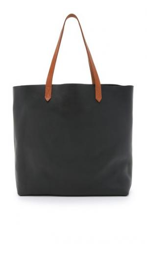 Объемная сумка Transport с короткими ручками Madewell
