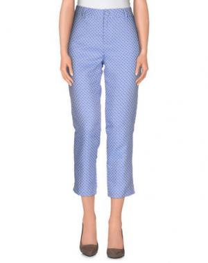 Повседневные брюки ANONYME DESIGNERS. Цвет: пастельно-синий