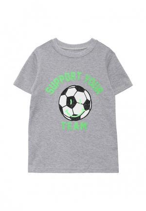 Футболка КотМарКот. Цвет: серый