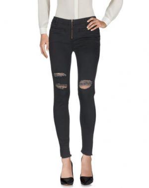Повседневные брюки AMUSE SOCIETY. Цвет: свинцово-серый