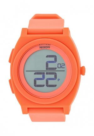 Часы Nixon. Цвет: оранжевый
