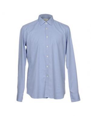 Pубашка BEVILACQUA. Цвет: синий