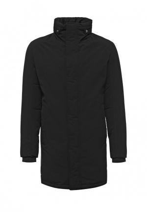 Куртка утепленная Strellson. Цвет: черный