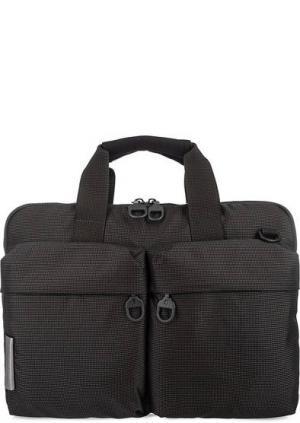 Текстильная сумка с отделением для ноутбука Mandarina Duck. Цвет: серый