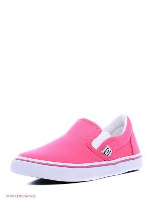 Слипоны 4U. Цвет: розовый